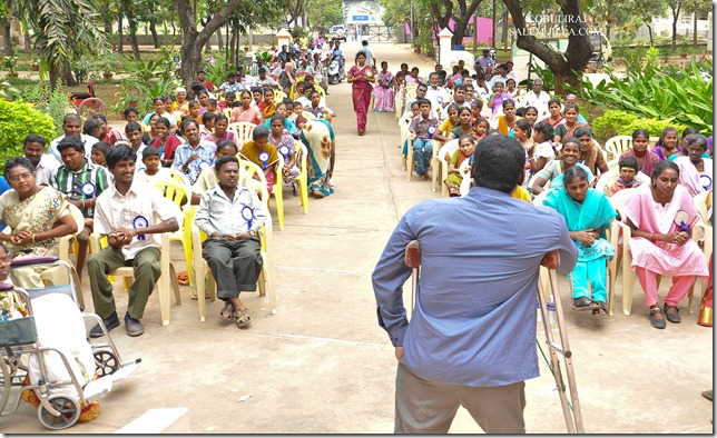 disability day event in Salem, Tamilnadu